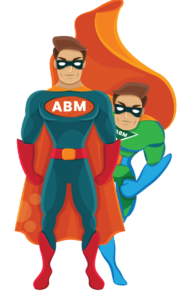 SEO my Business - end-to-end ABM marketing agency superhero duo